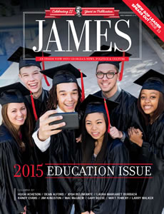 James_July-August 2015_cover